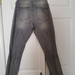 Guess gray jeans